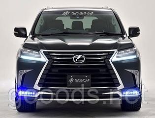 Варианты рестайлинга и замена комплектующих Lexus LX-570 (Лексус 570)