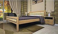 Недорогая кровать дерево Модерн