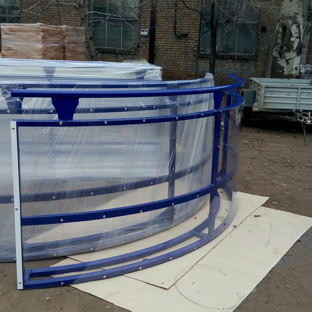 Производство ограждений для спортивных площадок - Полюс-Айс в Запорожье
