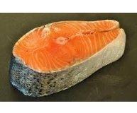 Семга лосось стейк охлажденная 265778 ПЦ 1кг