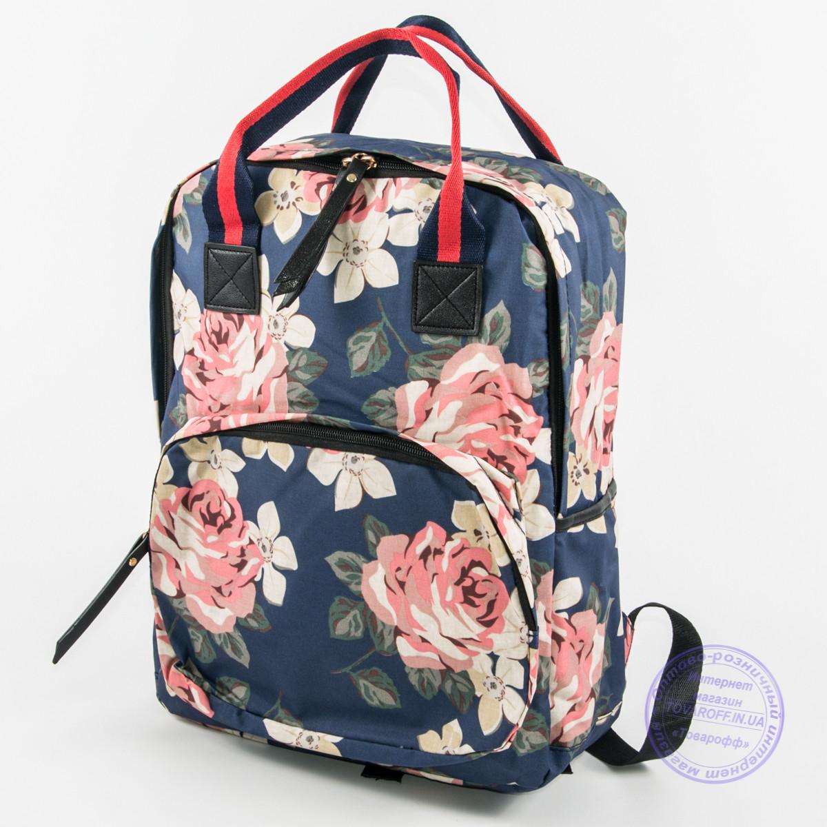 a8b96523fd7b Сумка-рюкзак для школы и прогулок - синий - 9015 - Интернет магазин  Товарофф в