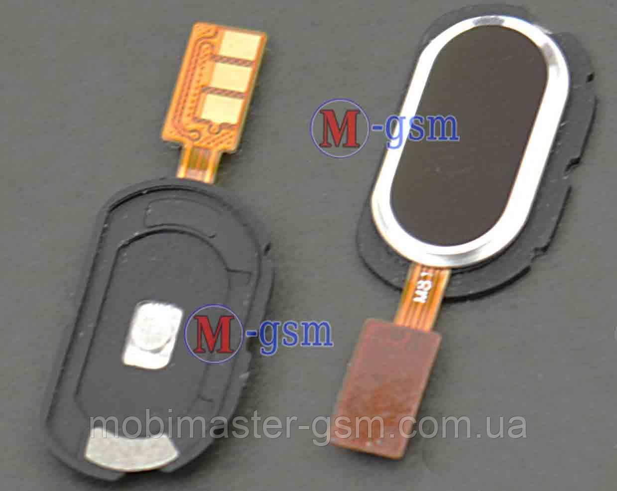 Шлейф с кнопкой включения для Meizu M2 Note black
