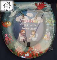 Детское сиденье (накладка) на унитаз Aqua Fairy Н001