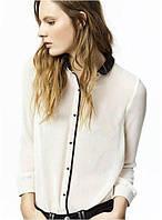 Рубашка женская модная шифоновая под ASOS,магазин женской одежды , фото 1