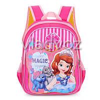 Школьный рюкзак для девочек Sofia magic розовый