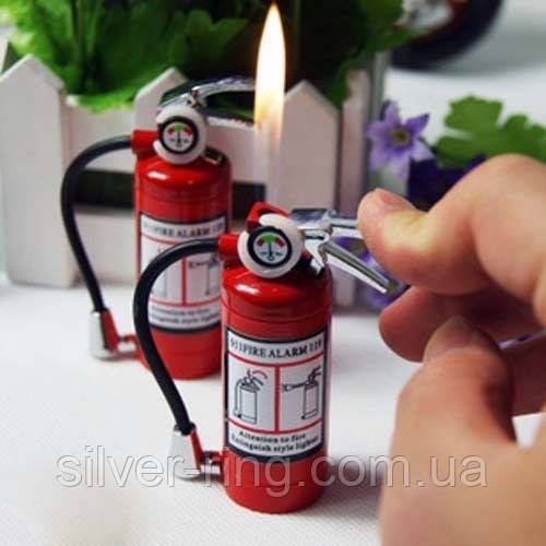 """Зажигалка с фонариком """"Огнетушитель"""""""