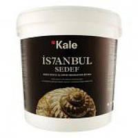 Краска Kale Istanbul Sedef - перламутровая, жемчужный блеск (белая, желтая, лиловая) 1кг