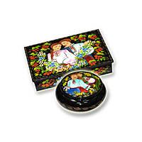 Шкатулки миниатюрная живопись (украинцы)