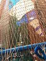 Кастинговая сеть Американка с КОЛЬЦОМ ФРИСБИ диаметр 4,3 метра, высота 2 метра, нитка яч. 20 мм