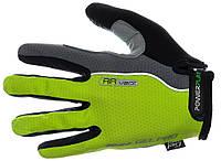 Велосипедные перчатки Power Play из прочной ткани, фото 1