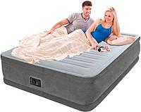 Велюровая надувная кровать INTEX 64414 New 2017