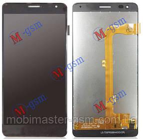 LCD модуль Wileyfox Spark, Spark Plus черный
