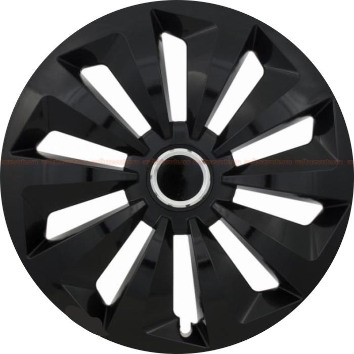 Колпаки Колесные Комплект FOX RING BLACK R13