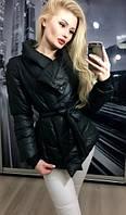 Куртка осенняя черная. Размер Л - 2шт