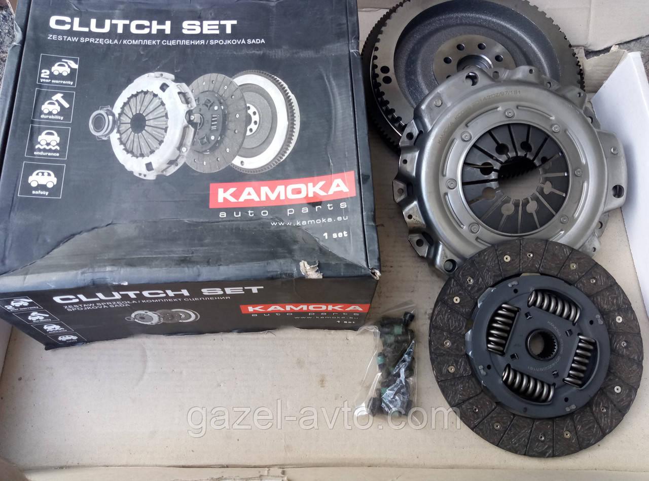 Сцепление Mercedes Sprinter (диск нажим.+вед.+маховик)(пр-во KAMOKA)