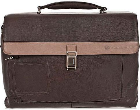 Кожаный портфель Piquadro Vibe CA1045VI_GRTO темно-серый