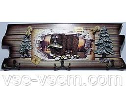 KC362 (17 х 40 см) Оригинальная ключница на 6 крючков.