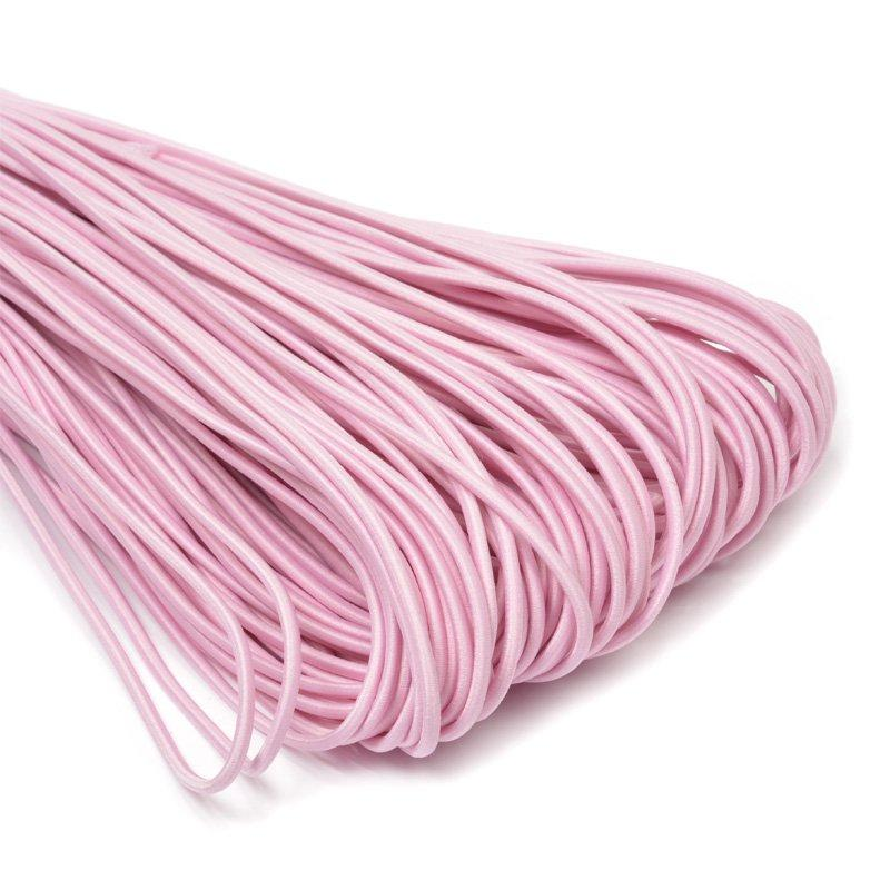 Резинка шляпная 2 мм розовый (уп 100м) 013 Ф