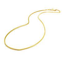 Цепочка плетение Шнурок золотистая Арт. CN010SL, фото 2