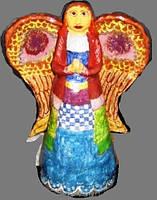 """Ангел хранитель """"Средневековый взгляд"""" керамика статуя фигурка скульптура"""