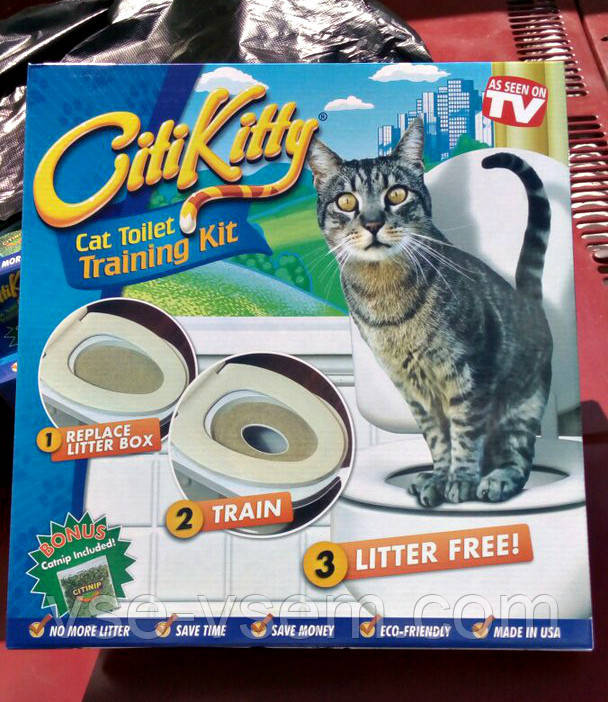 Набор для приучения кошки к унитазу CitiKitty (Сити Кити)