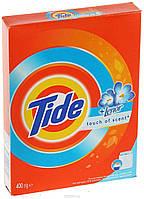"""Стиральный порошок универсальный """"Tide Absolute Lenor touch"""", 400 грамм."""