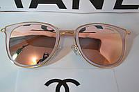 Стильные солнцезащитные очки  , цвет пудра