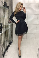 Нарядное платье, черное
