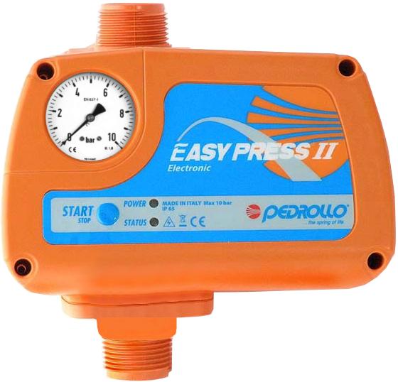 Электронный регулятор давления Easypress II с манометром старт 1.5