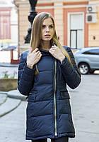 Женское полу-пальто FREEVER (холлофайбер) (Код: 566-3)