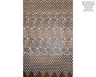 Kayra Тюль Органза вышивка 13681