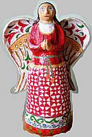 """Ангел хранитель """"Ангел в красном"""" керамика статуя фигурка скульптура"""