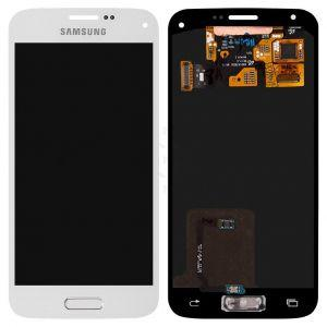 Дисплей с тачскрином Samsung G800H Galaxy S5 Mini белый (HQ)