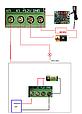 Терморегулятор цифровой W1209 бескорпусной 12В (-50...+110) 0.1 градус, фото 2