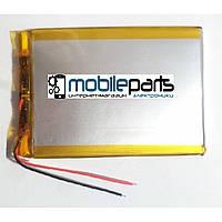 Оригинальный Универсальный Внутренний Аккумулятор АКБ 86*76*3, 2 pin 357386P (Li-ion 3.7V 3000mAh)