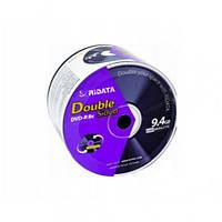 Двосторонній дистк RIDATA DVD-R 9,4 Gb 8x Bulk (50 шт)