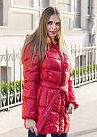 Женское полу-пальто FREEVER (холлофайбер) (Код: 1612-4)