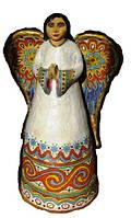 """Ангел хранитель """"Солнечный луч"""" керамика статуя фигурка скульптура"""