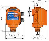 Электронный регулятор давления Easy Small II с манометром старт 1.5, фото 2