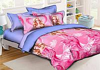 Детский комплект постельного белья полуторный, ранфорс 100% хлопок. (арт.7673)