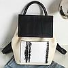 Модный женский рюкзак из кожзама, фото 4