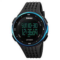 Часы спортивные Skmei 1219 Black-Blue