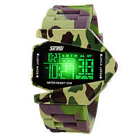 Часы светодиодные камуфляжные Skmei Арт. 0817GCB + Коробочка