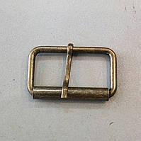 Пряжка литая 40 мм, антик