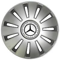 Колпак Колесный Mercedes (серый) R16