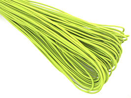 Резинка шляпная 2мм цв салатовый неон (уп 100м) Ф