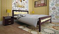Недорогая кровать дерево Модерн 3