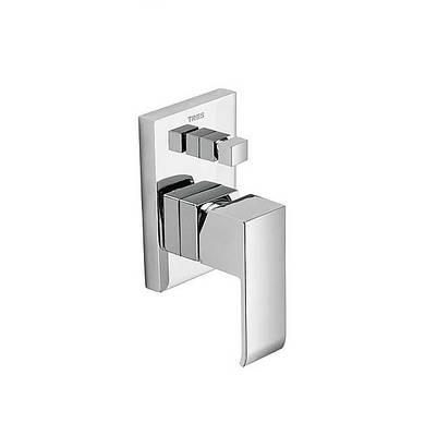 Смеситель для ванны скрытого монтажа Tres CUADRO 106180