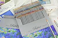 Карандаши цветные 72 цвета Raffine шестигранные Marco
