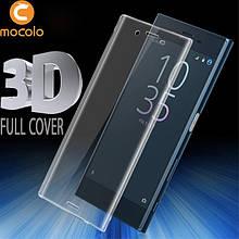 Защитное стекло Mocolo 3D 9H на весь экран для Sony XZ Premium прозрачный